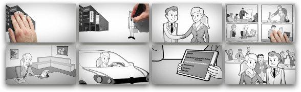 Whiteboard-Animationen